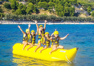 Orebic Boat Rent Banana Ride