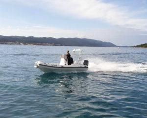 King 490 RIB Orebić Boat Rent
