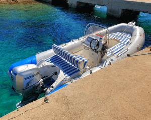 Zodiac Medline IIc Side Orebic Boat Rent